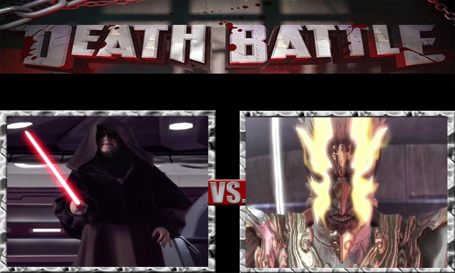 Death Battle-Emperor Palpatine vs. Deus by SSJ4Truntanks