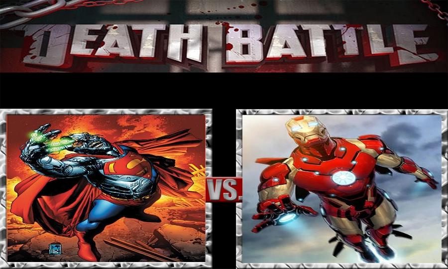 Death Battle-Cyborg Superman vs. Iron Man by SSJ4Truntanks