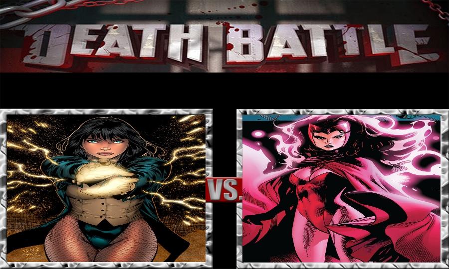 Death Battle-Zatanna Zatara vs. Scarlet Witch by SSJ4Truntanks