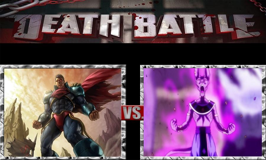 Death Battle-Superboy Prime vs. Beerus by SSJ4Truntanks