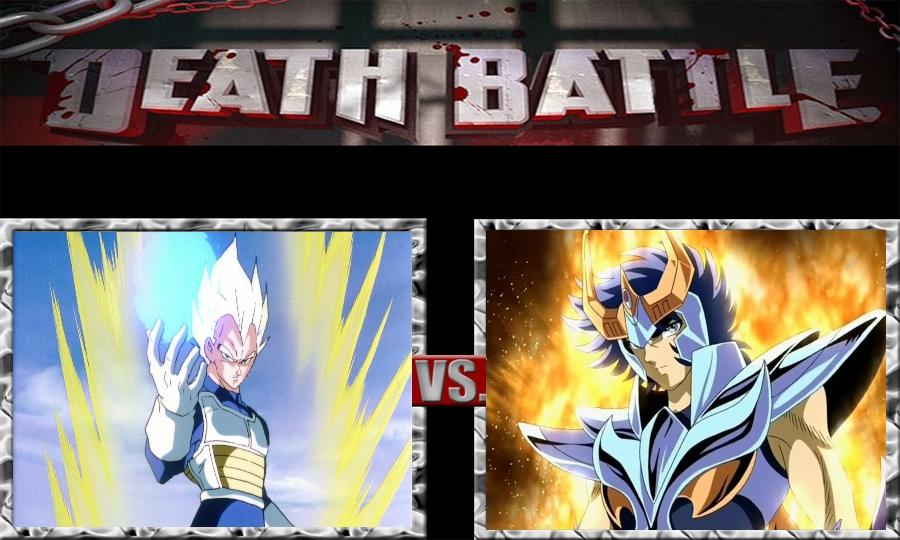 Death Battle-Vegeta vs. Ikki by SSJ4Truntanks