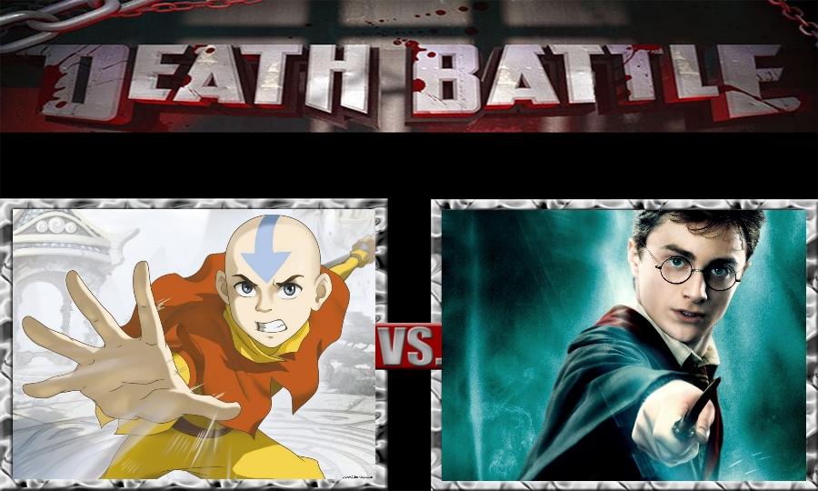 Death Battle-Aang vs. Harry Potter by SSJ4Truntanks