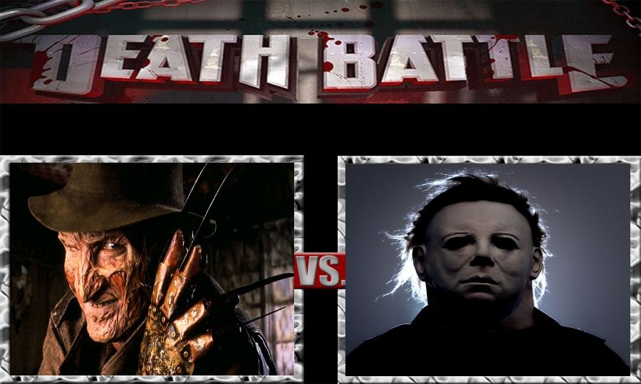 Death Battle-Freddy Krueger vs. Michael Myers by SSJ4Truntanks