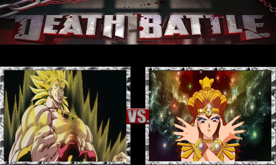 Death Battle-Broly vs. Sailor Galaxia by SSJ4Truntanks