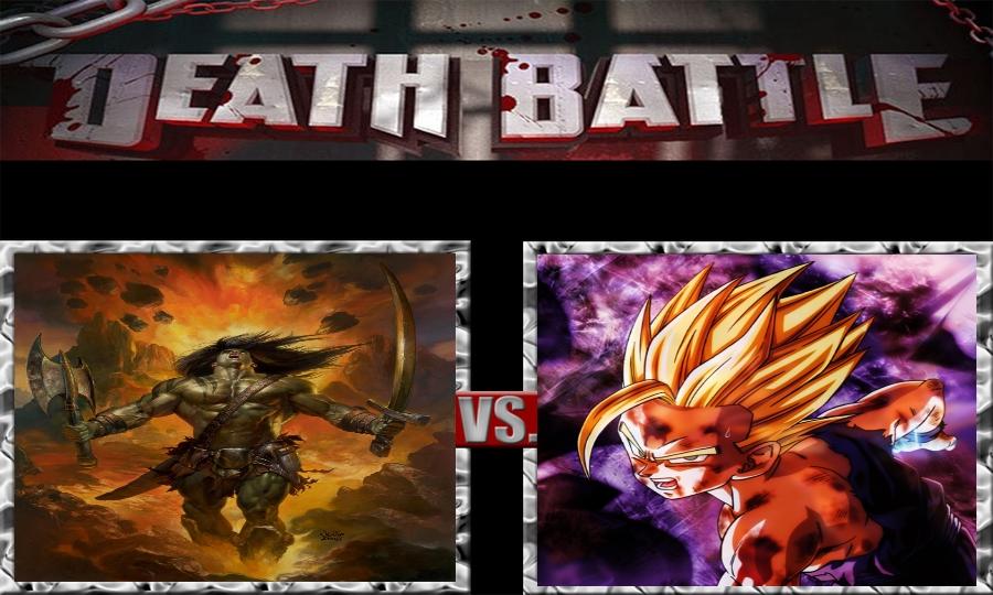 Death Battle-Skaar vs. Gohan by SSJ4Truntanks