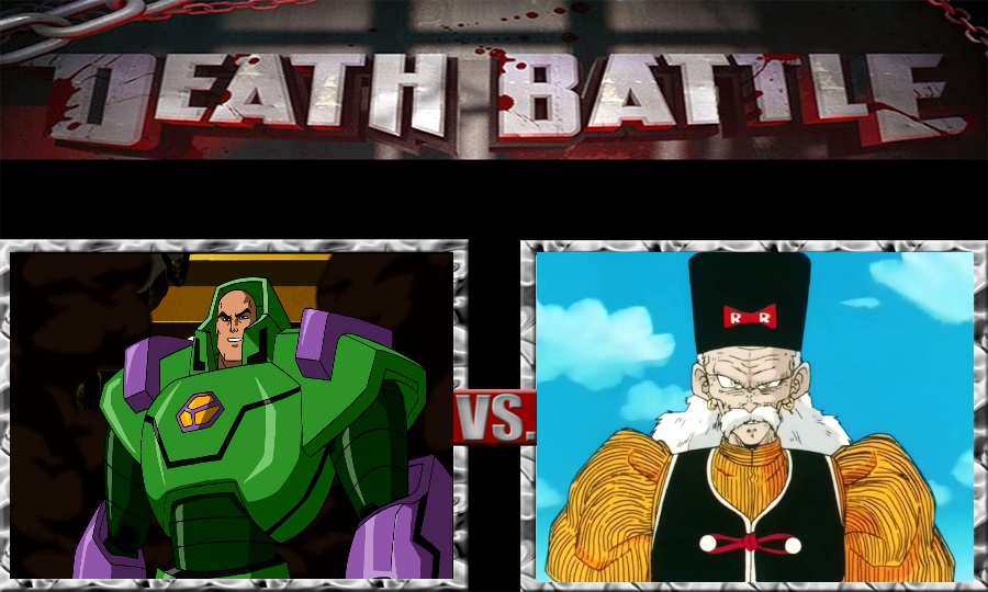 Death Battle-Lex Luthor vs. Dr. Gero by SSJ4Truntanks