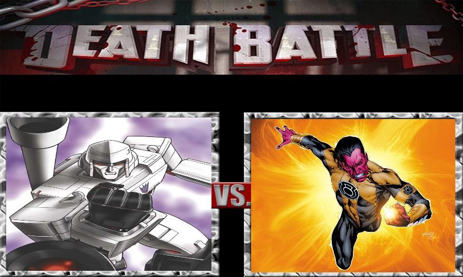 Death Battle-Lord Megatron vs. Thaal Sinestro by SSJ4Truntanks