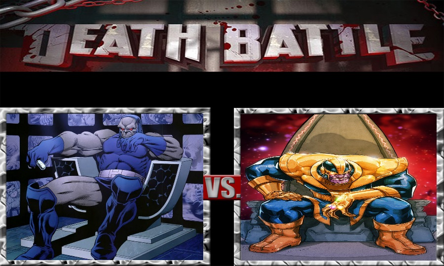 Death Battle-Darkseid vs. Thanos by SSJ4Truntanks