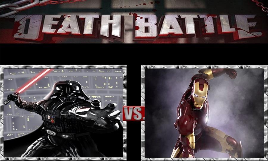 Death Battle-Darth Vader vs. Iron Man by SSJ4Truntanks