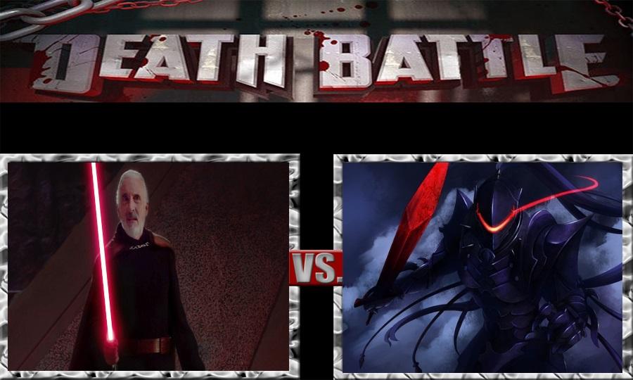 Death Battle-Count Dooku vs. Berserker Lancelot by SSJ4Truntanks