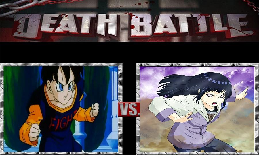 Death Battle-Videl Satan vs. Hinata Hyuga by SSJ4Truntanks