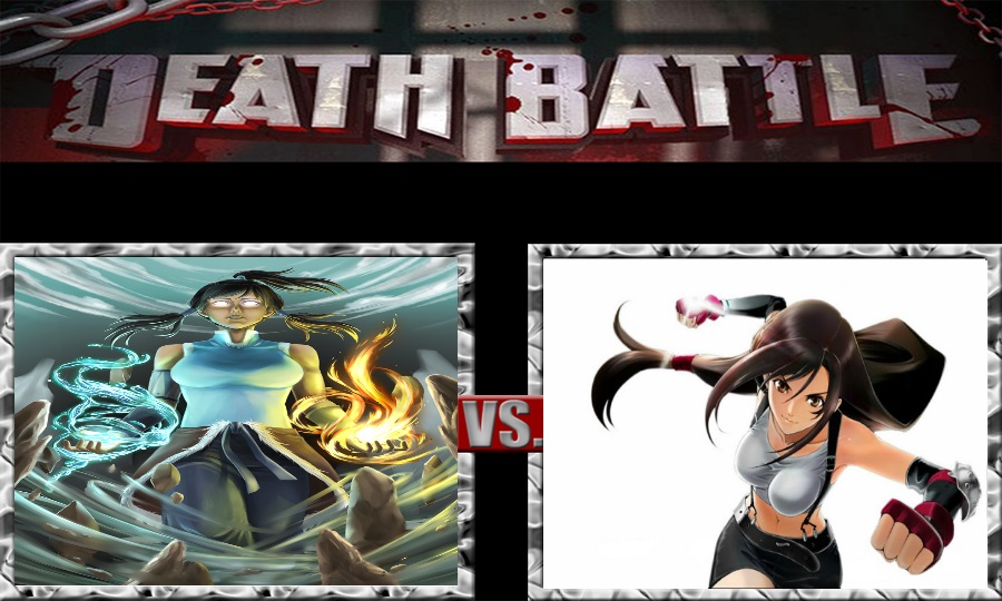 Death Battle-Avatar Korra vs. Tifa Lockhart by SSJ4Truntanks