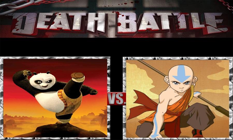 Death Battle-Po vs. Avatar Aang by SSJ4Truntanks