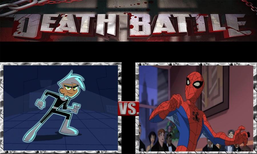 Death Battle-Danny Phantom vs. Spectacular Spiderm by SSJ4Truntanks