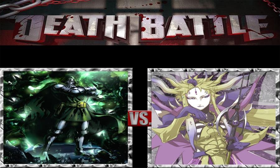 Death Battle-Dr. Doom vs. Emperor Mateus by SSJ4Truntanks