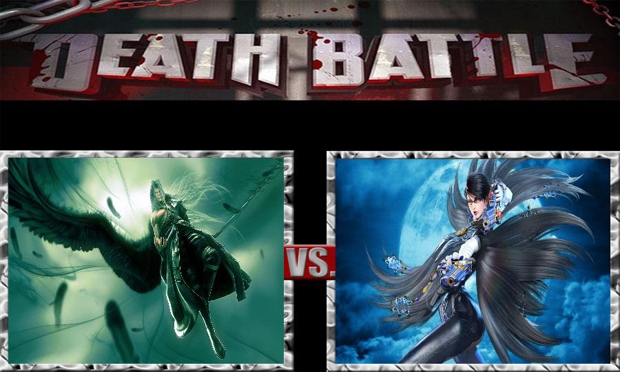 Death Battle-Sephiroth vs. Bayonetta by SSJ4Truntanks