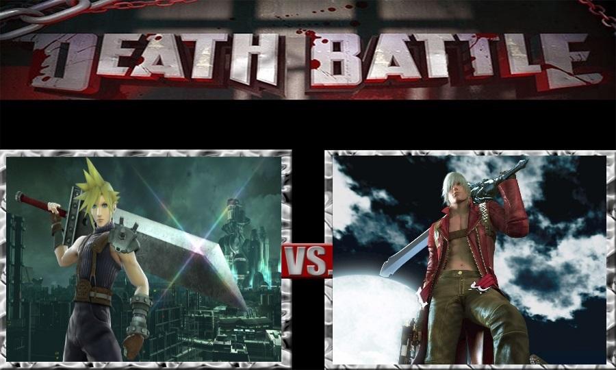 Death Battle-Cloud Strife vs. Dante by SSJ4Truntanks