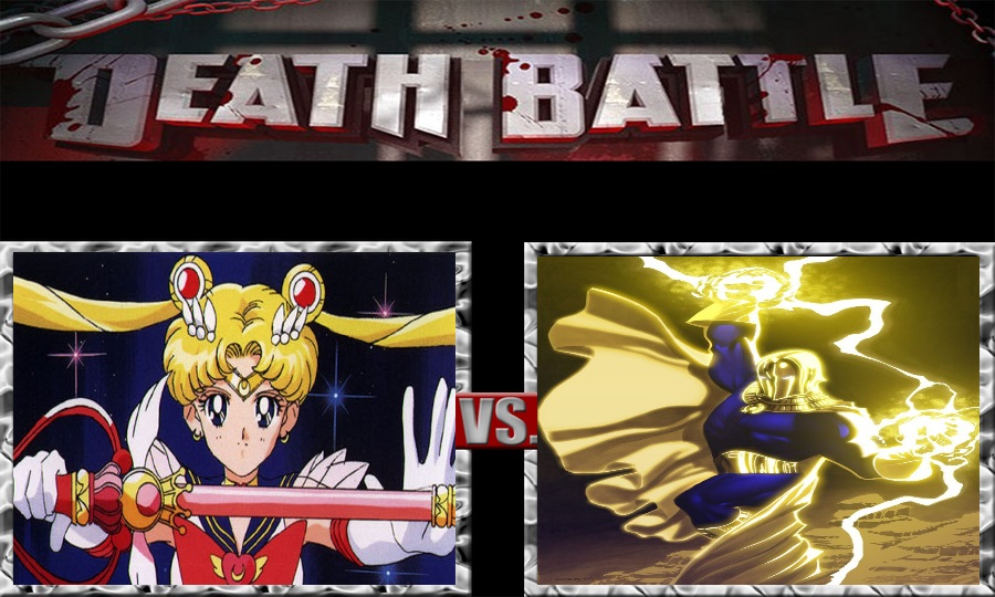 Death Battle-Sailor Moon vs. Dr. Fate by SSJ4Truntanks