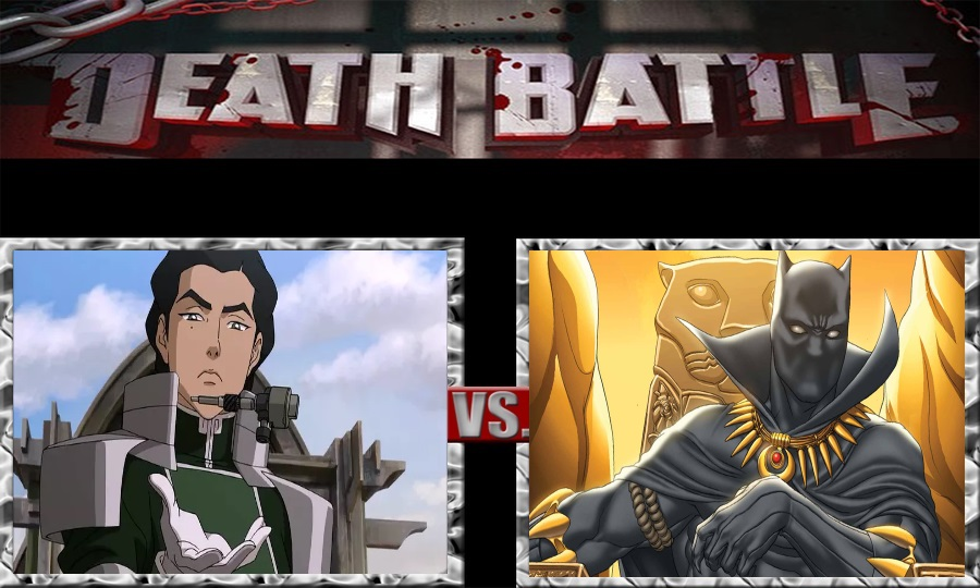 Death Battle-Kuvira vs. Black Panther by SSJ4Truntanks