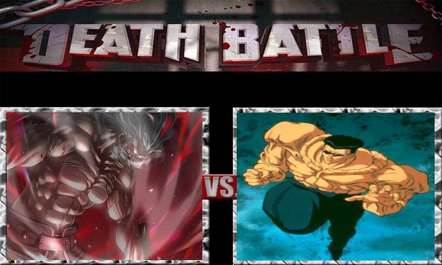 Death Battle-Berserker Hercules vs. Younger Toguro by SSJ4Truntanks