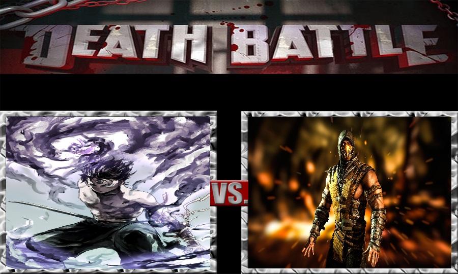 Death Battle-Hiei vs. Scorpion by SSJ4Truntanks