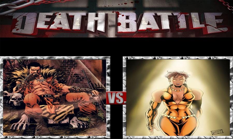 Death Battle-The Kraven vs. The Vixen by SSJ4Truntanks