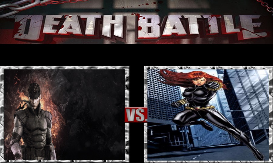 Death Battle-Solid Snake vs. Black Widow by SSJ4Truntanks