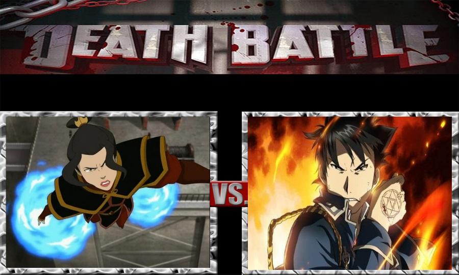 Death Battle-Azula vs. Roy Mustang by SSJ4Truntanks