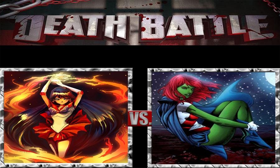 Death Battle-Sailor Mars vs. Miss Martian by SSJ4Truntanks