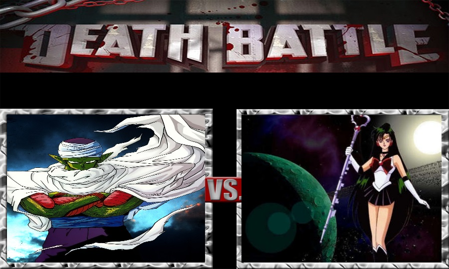 Death Battle-Piccolo vs. Sailor Pluto by SSJ4Truntanks