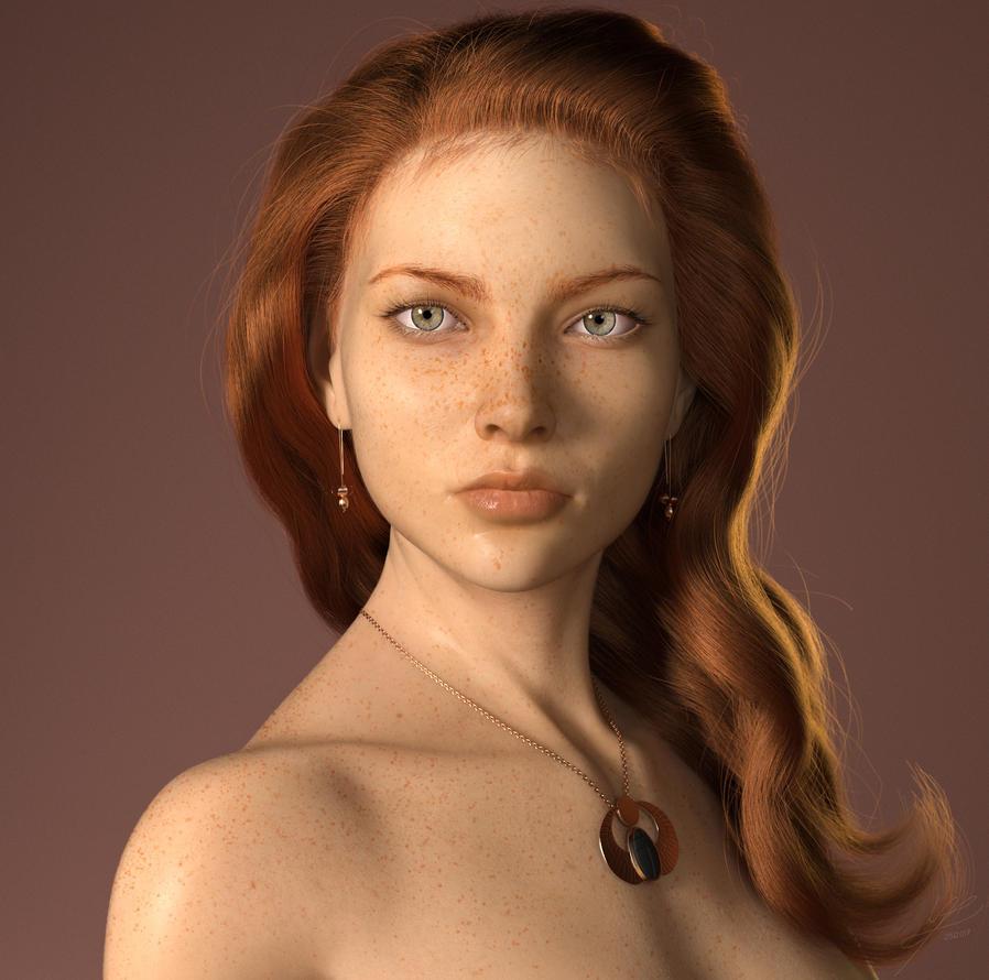 Redhead by Marcusrafaelft