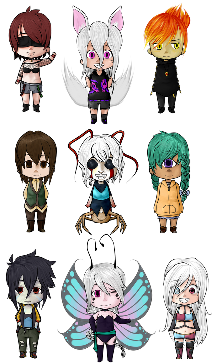 Chibi dump 1 by TractIss