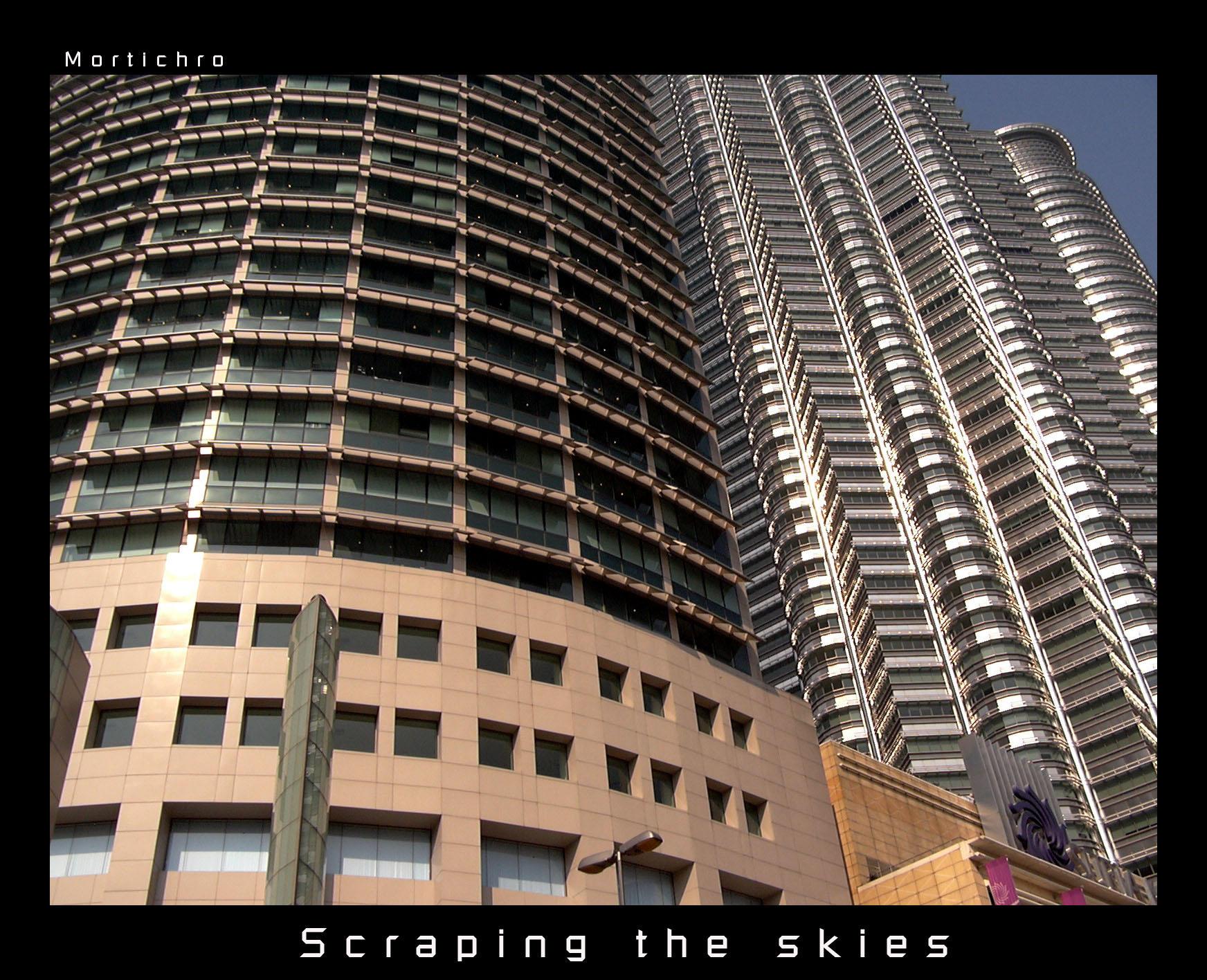 sKraping the sCy by mortichro