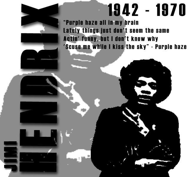 Jimi Hendrix Tribute by mortichro