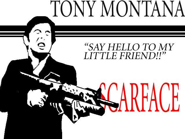 Tony Montana by mortichro