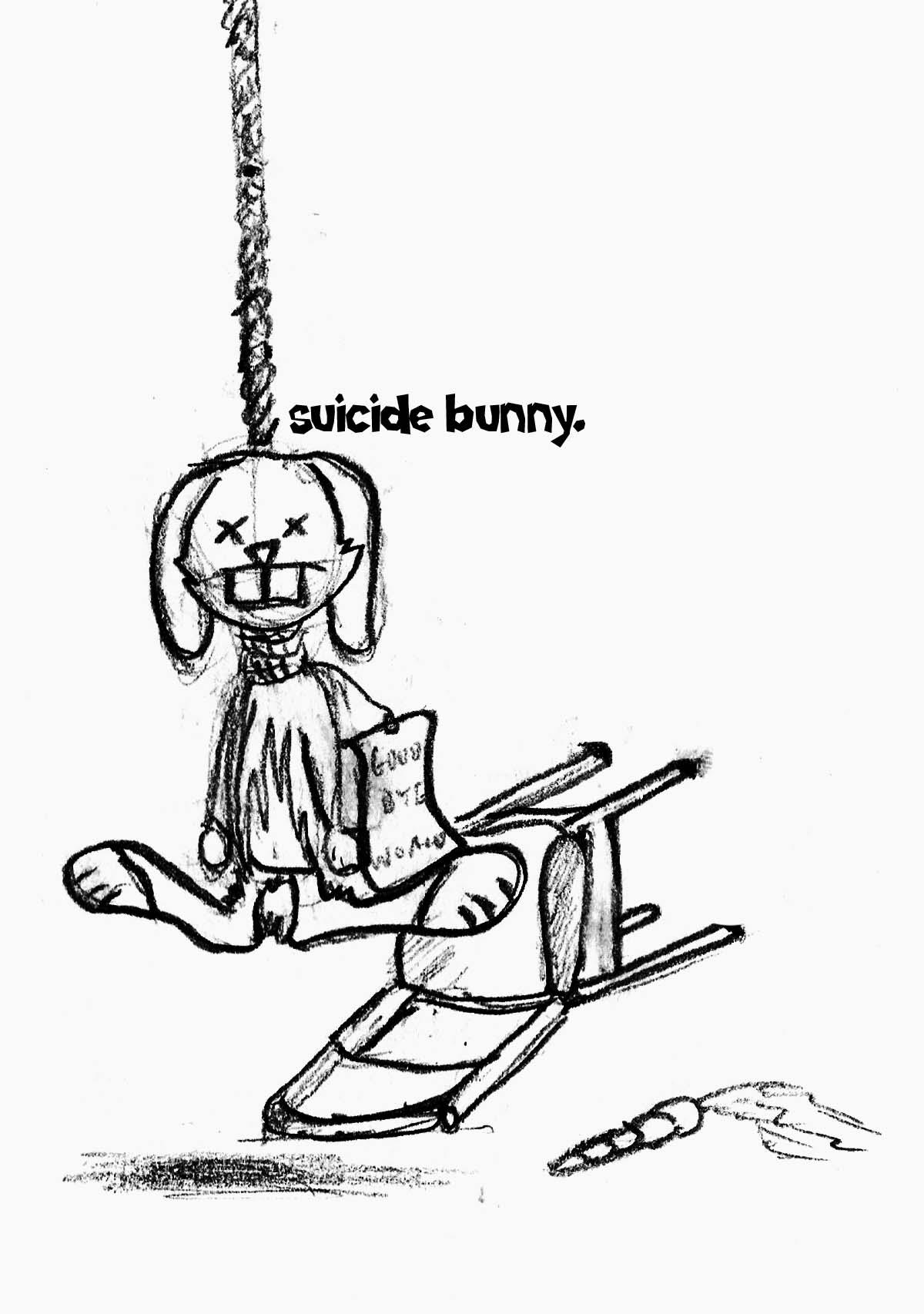 Mr bunny hates his life by mortichro