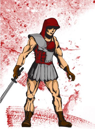 Roman Assassin by mortichro