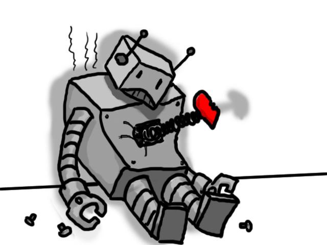 Broken CPU droid by mortichro