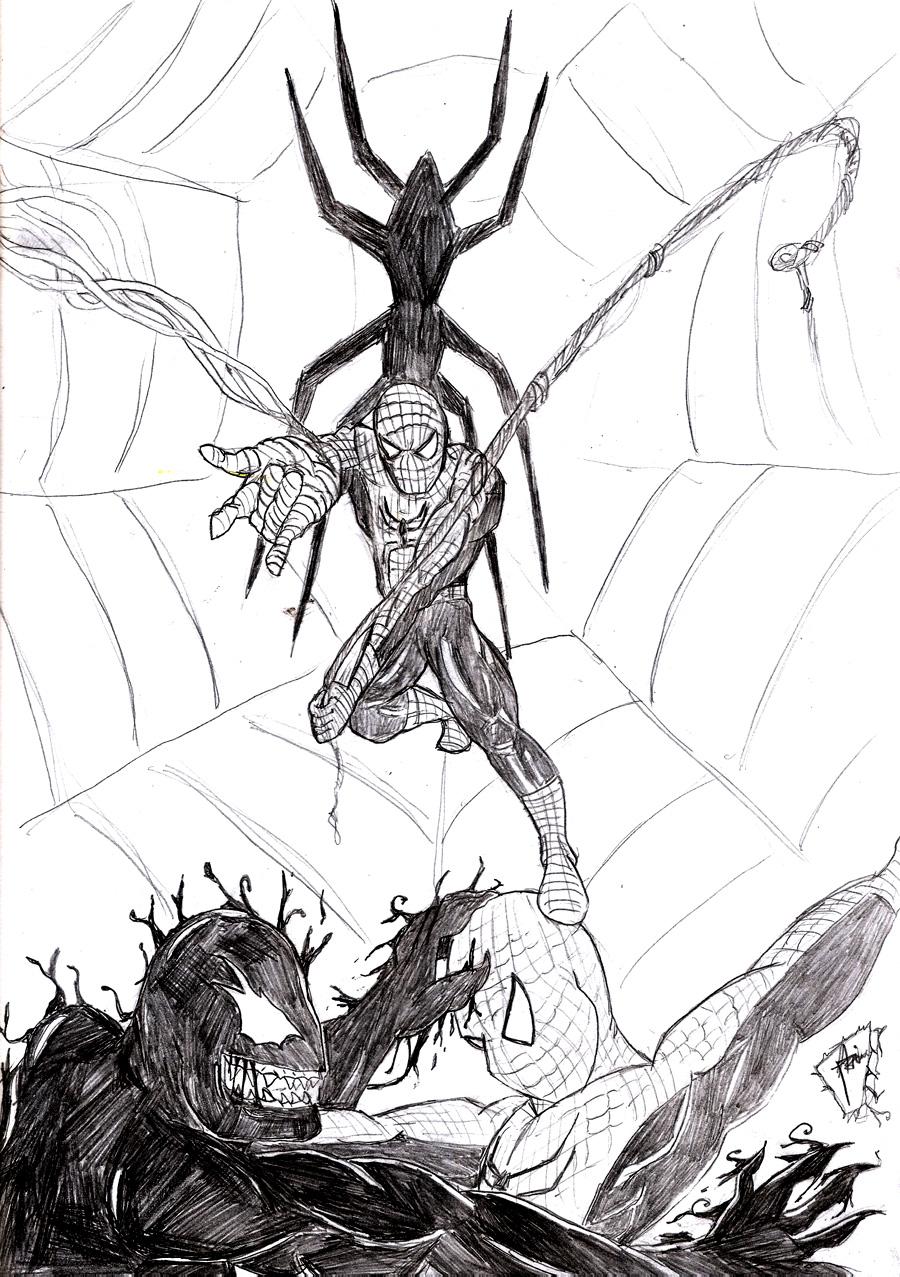 Spiderman fanart by mortichro