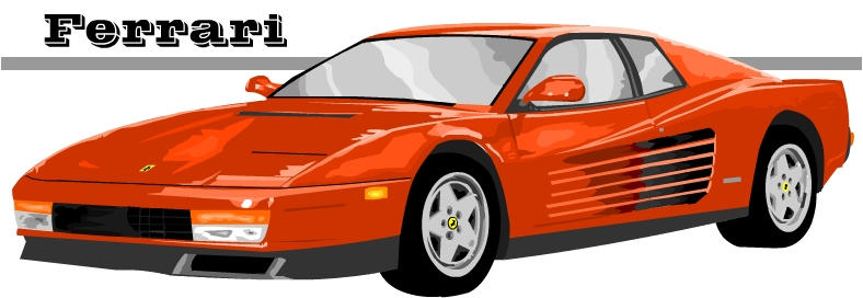 Ferrari Vector by mortichro