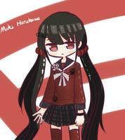 (Request) Maki Harukawa by A2ZCandie