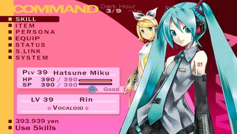 Hatsune Miku Persona 3