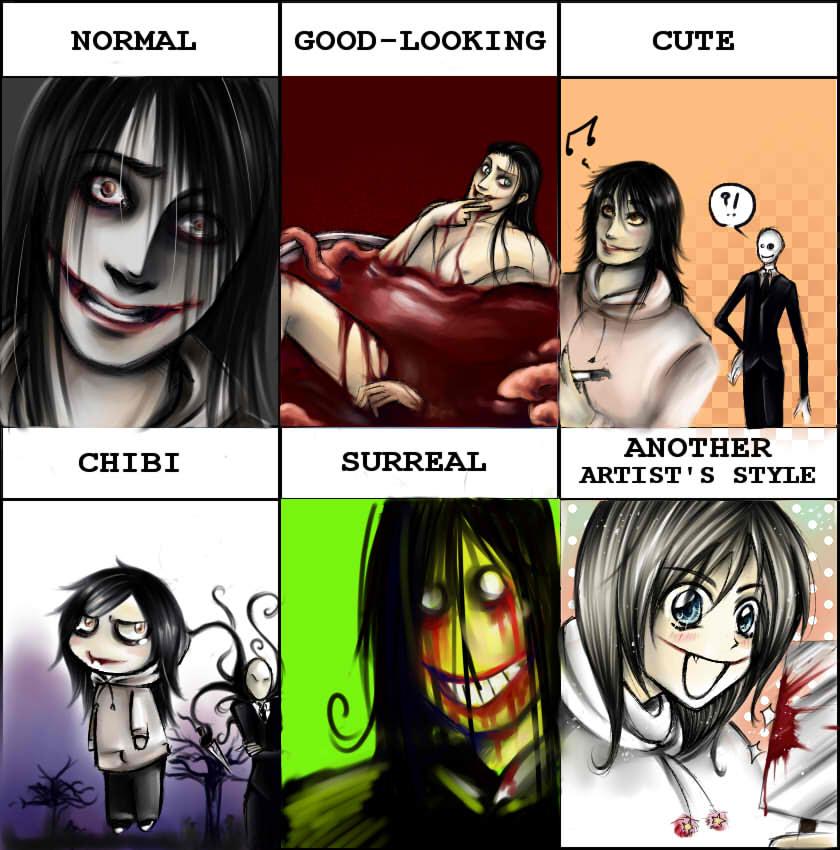 Jeff the Killer ~Style Meme~ by TheMihaelGraham