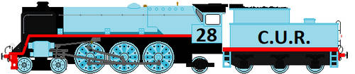 C.U.R. Engine Number 28 by Duel-Express