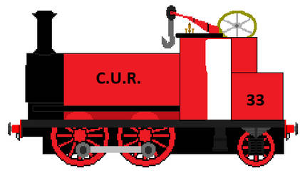 C.U.R. Engine Number 33 by Duel-Express
