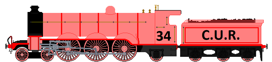 C.U.R. Engine Number 34 by Duel-Express
