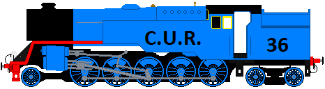 C.U.R. Engine Number 36 by Duel-Express