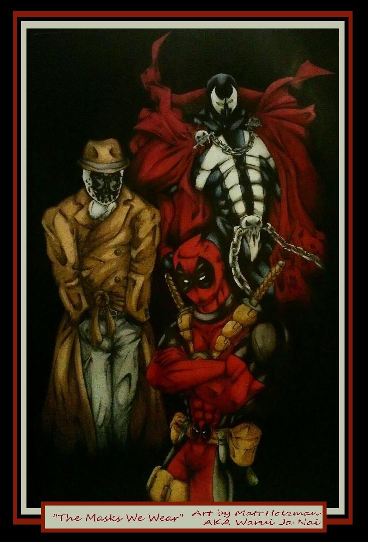 The Masks We Wear by WaruiJaNai
