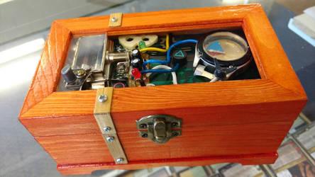 Customized deck box