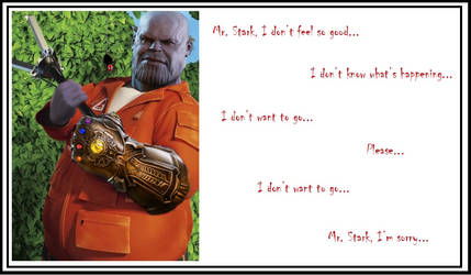 Postcard From Thanos